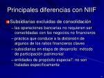 principales diferencias con niif3