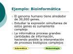 ejemplo bioinform tica