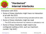hardwired internal interlocks1