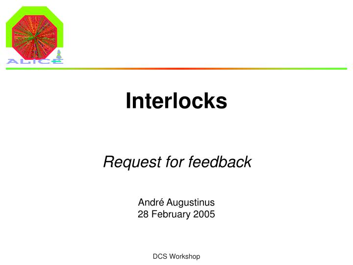 interlocks n.