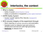 interlocks the context