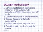 sauner methodology