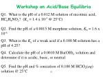 q1 what is the ph of a 0 012 m solution of nicotinic acid hc 6 h 4 no 2 k a 1 4 x 10 5 @ 25 c