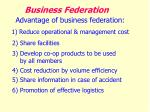 business federation