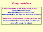 co op members