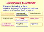 distribution retailing
