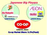 japanese big players