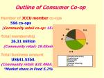 outline of consumer co op