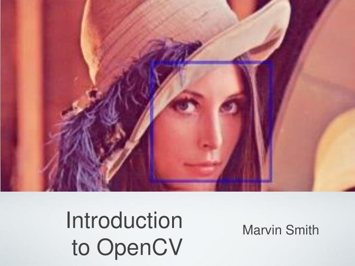 introduction to opencv n.