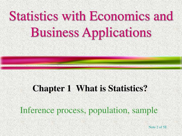 statistics with economics and business applications n.