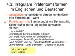 4 3 irregul re pr teritumsformen im englischen und deutschen
