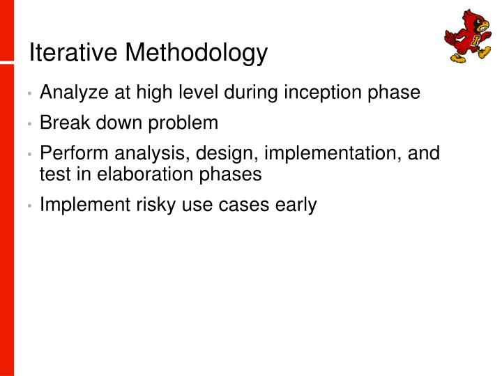 Iterative Methodology