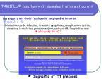 tamiflu oseltamivir donn es traitement curatif