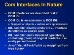 com interfaces in nature1
