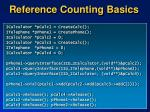 reference counting basics