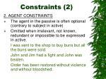 constraints 2