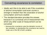 converting covariance to correlation1