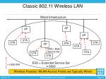 classic 802 11 wireless lan