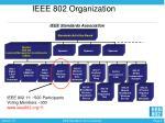 ieee 802 organization