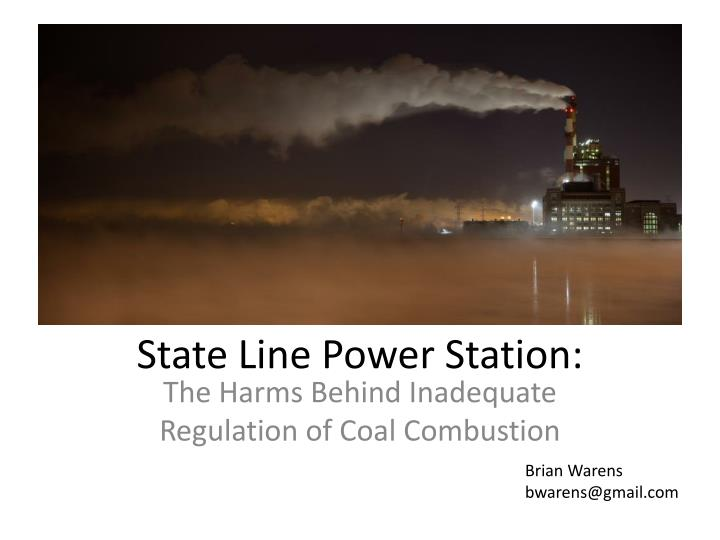 state line power station n.