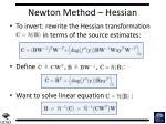 newton method hessian1