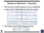 newton method hessian2