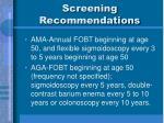 screening recommendations2