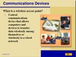communications devices6