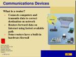 communications devices7