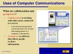 uses of computer communications4
