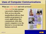 uses of computer communications5