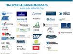 the ipso alliance members