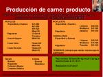 producci n de carne producto