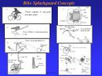 bike splashguard concepts