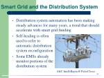 smart grid and the distribution system