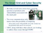 the smart grid and cyber security