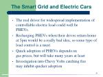 the smart grid and electric cars