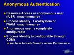 anonymous authentication1