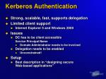 kerberos authentication2