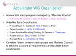 accelerator wg organization