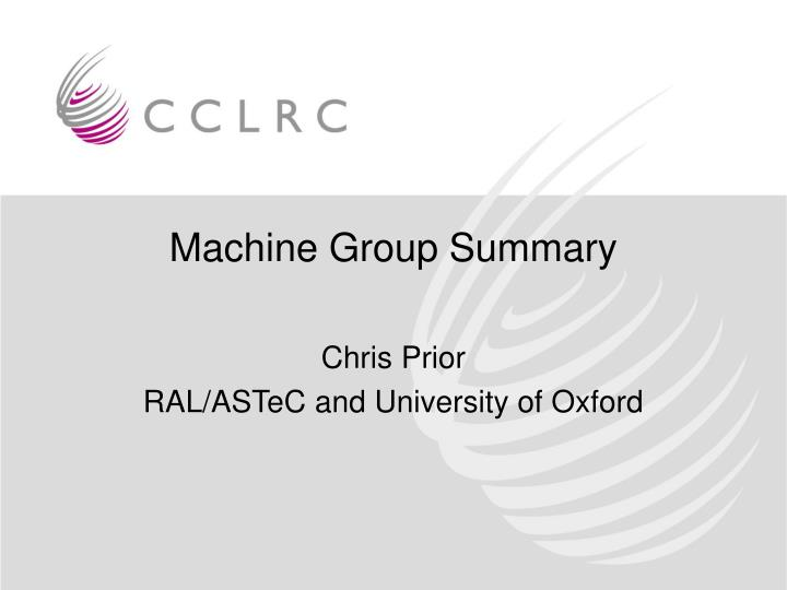 chris prior ral astec and university of oxford n.
