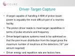 driver target capture