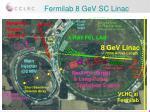 fermilab 8 gev sc linac