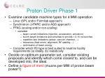 proton driver phase 1