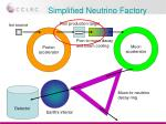 simplified neutrino factory1