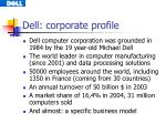 dell corporate profile