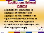 equilibrium national income1