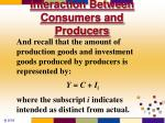 interaction between consumers and producers2