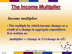 the income multiplier2
