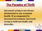 the paradox of thrift4